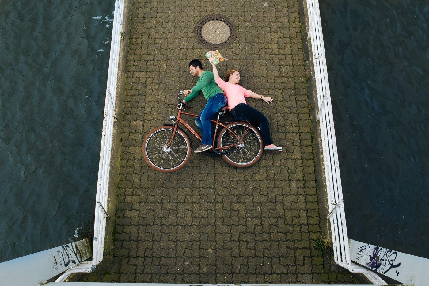 Verlobungsfotos Hamburg Elbstrand 1