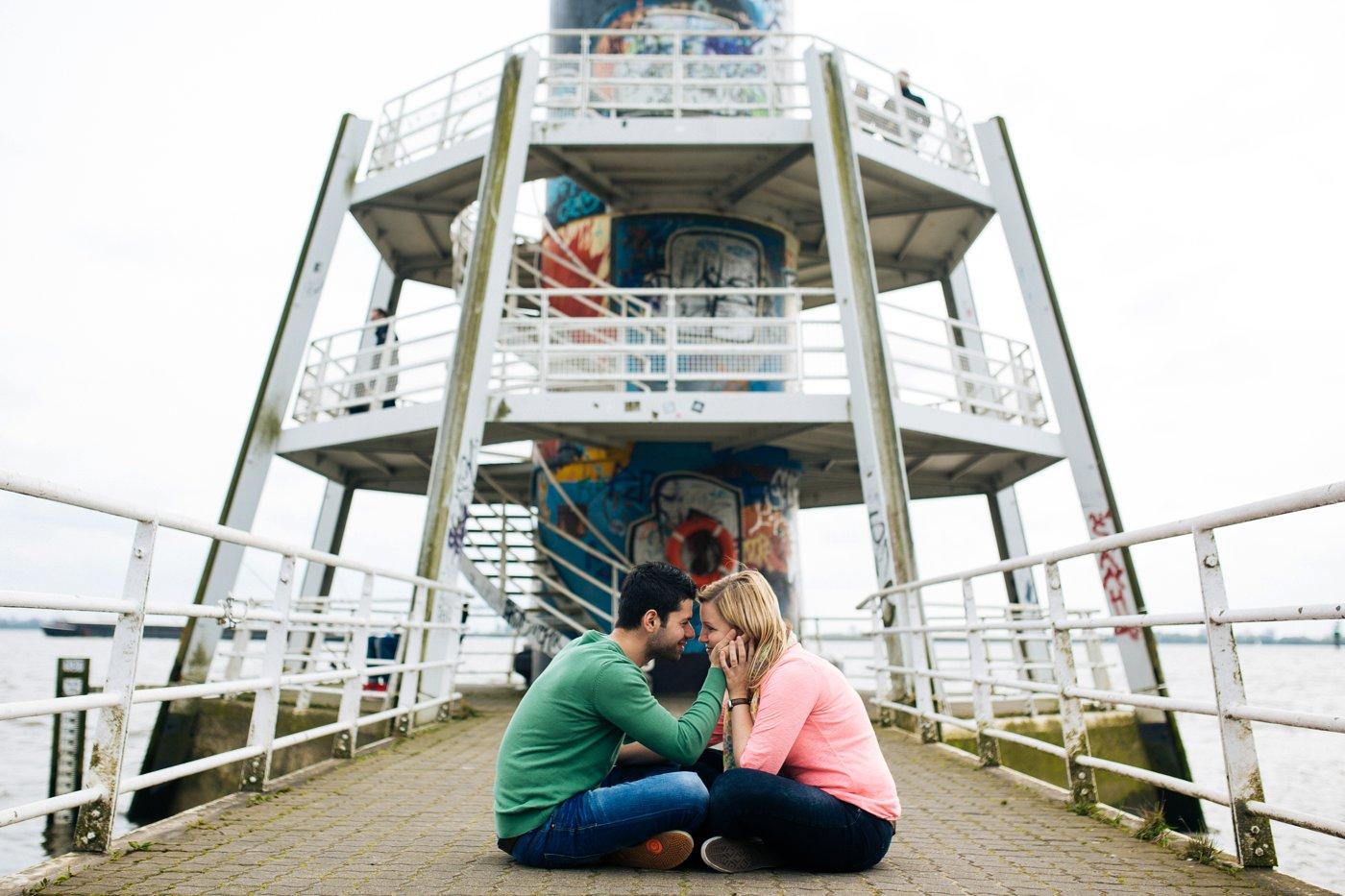 Verlobungsfotos Hamburg Elbstrand 8