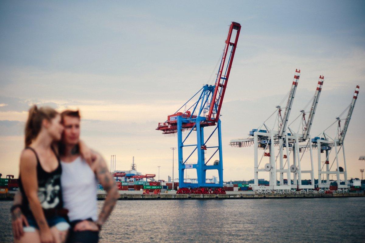 Verlobungsfotos Hamburg Hafen 16
