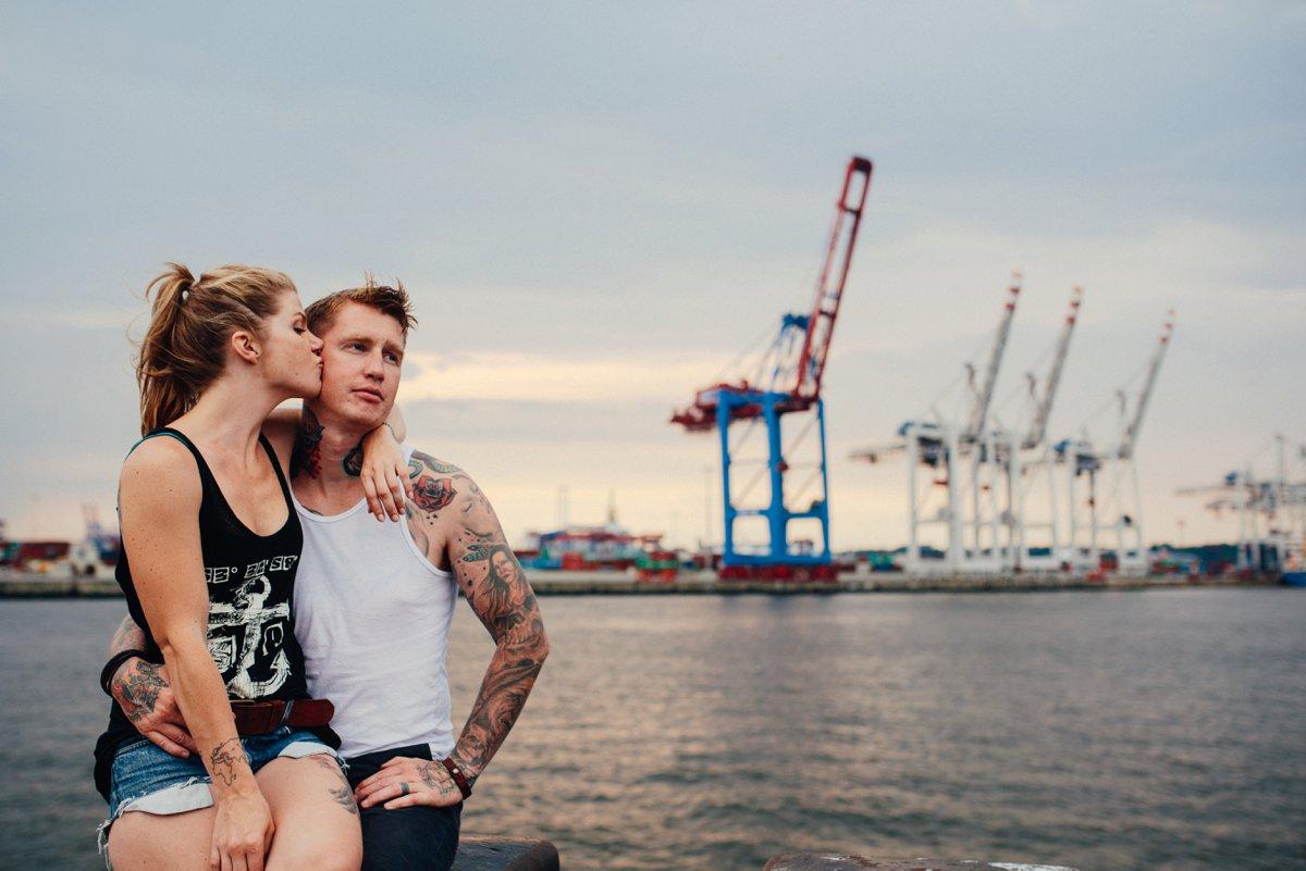 Verlobungsfotos Hamburg Hafen 21