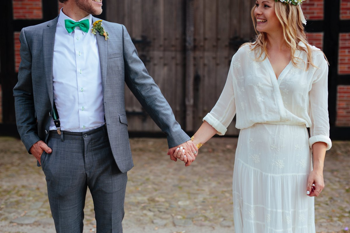 Boho Hippie Wedding At Home Pink Pixel Photography