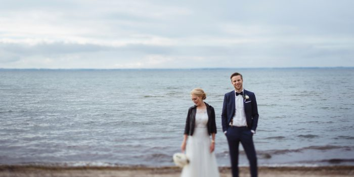 A wedding at the baltic sea
