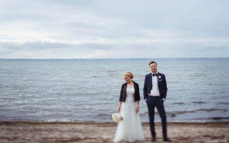 A wedding at the baltic sea
