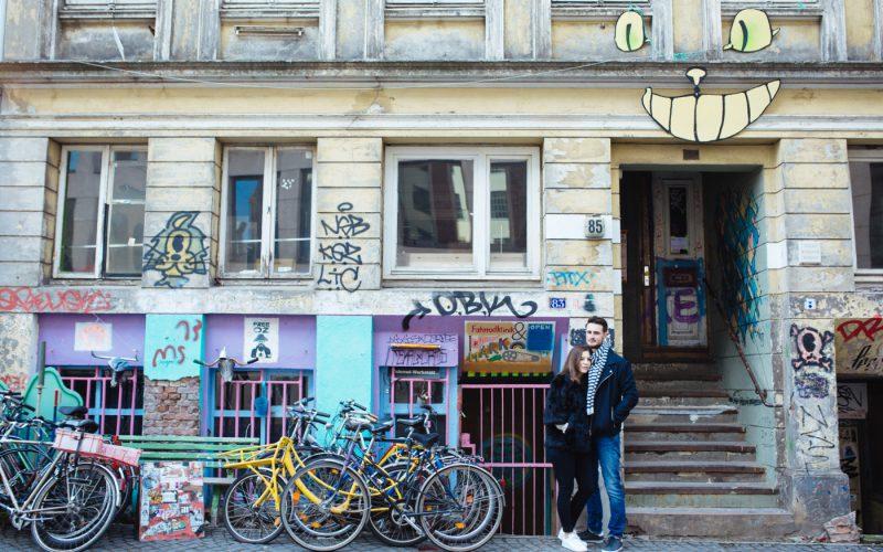 Entspannte Pärchenfotos in Hamburg