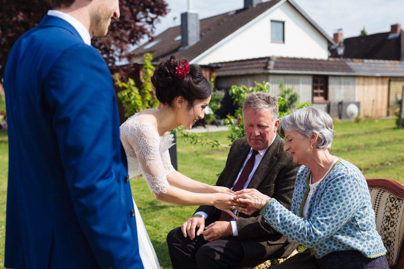 Vietnamesisch deutsche Hochzeit Teezeremonie 18