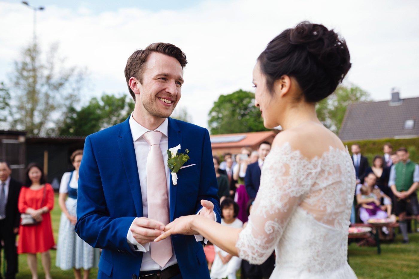 Vietnamesisch deutsche Hochzeit Teezeremonie 20