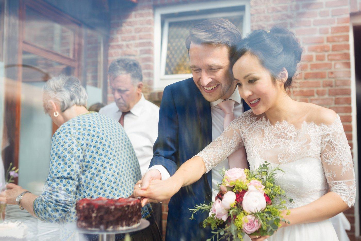 Vietnamesisch deutsche Hochzeit Teezeremonie 28