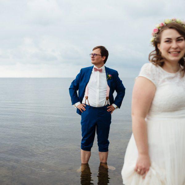 Liebevolle Hochzeit auf Rügen