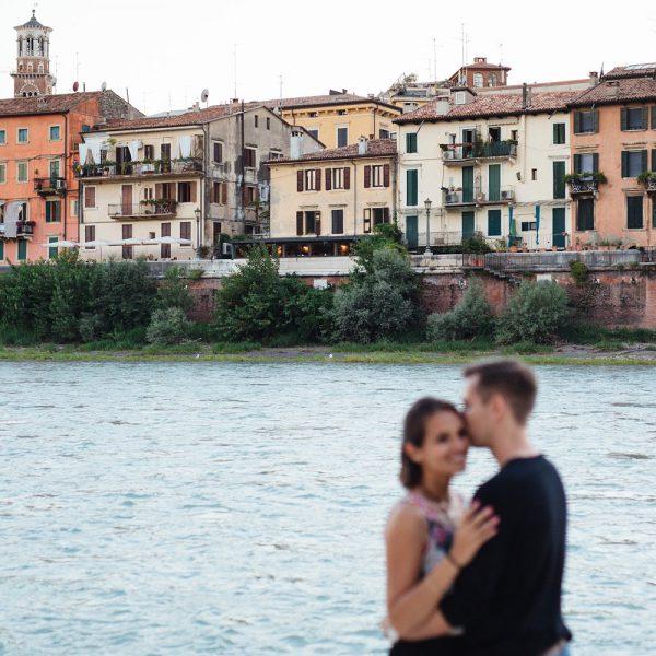 Ein Abendspaziergang durch Verona
