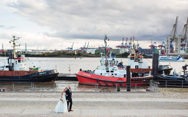 Urbane Hochzeit in der Kaffeerösterei Hamburg