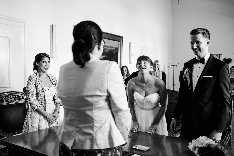 Urbane entspannte Hochzeit 27