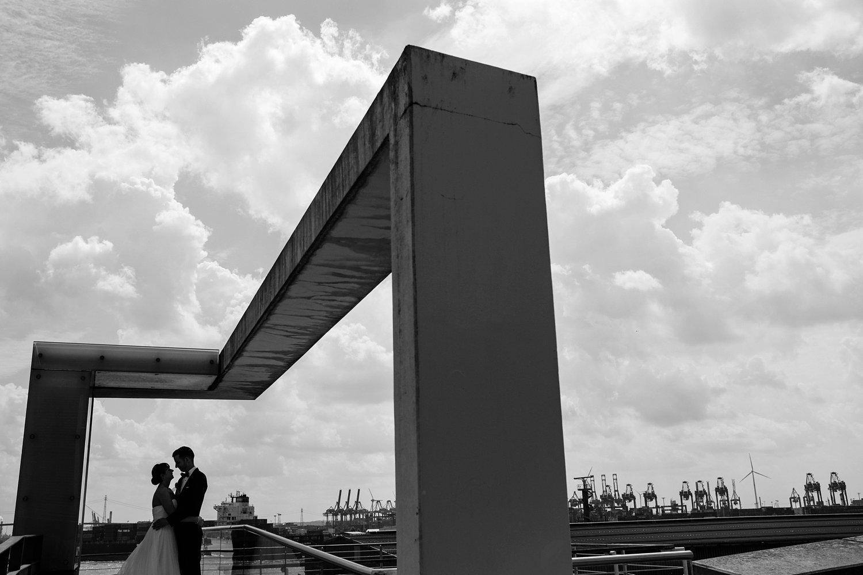 Urbane entspannte Hochzeit 42