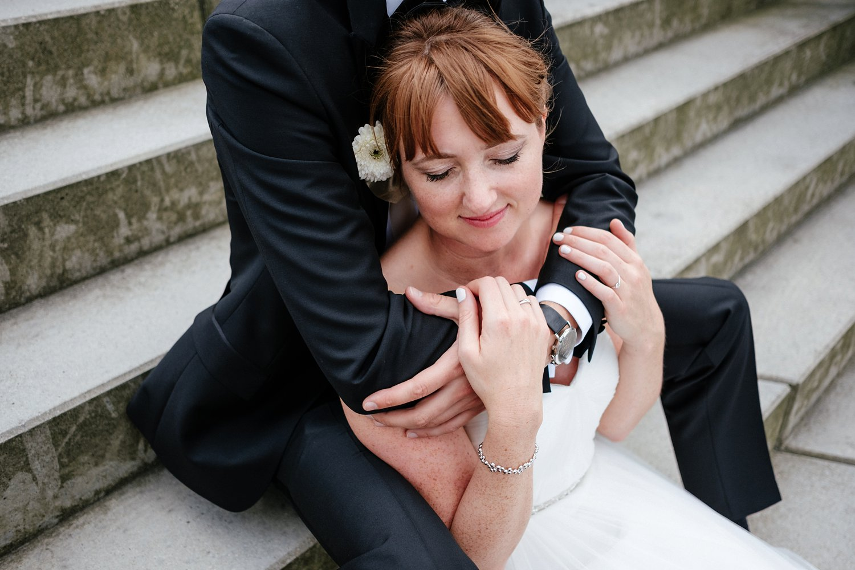 Urbane entspannte Hochzeit 44