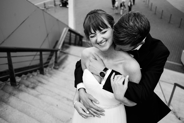 Urbane entspannte Hochzeit 46