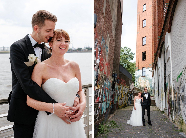 Urbane entspannte Hochzeit 52