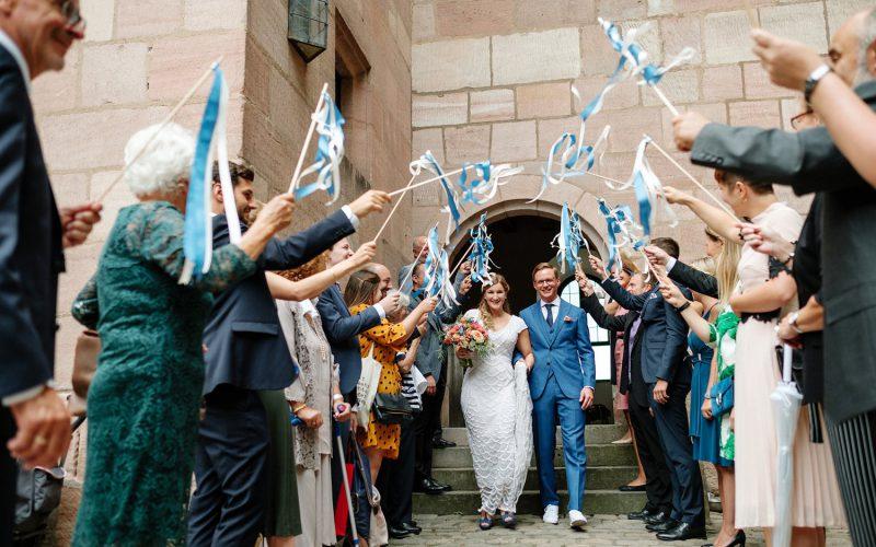Hochzeit auf der Kaiserburg Nürnberg