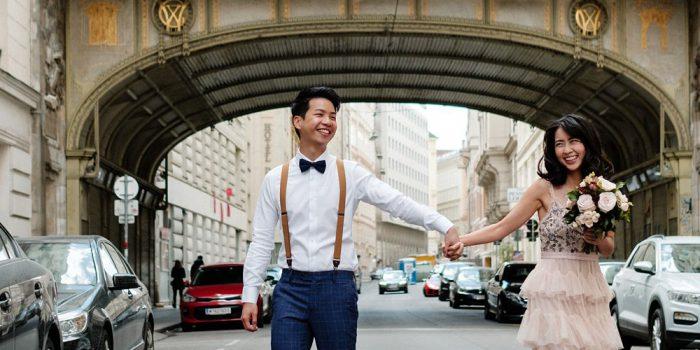 Wedding photos in Vienna