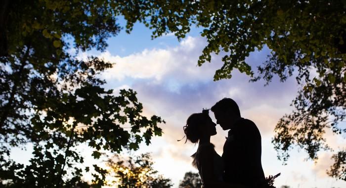 Eine entspannte Hochzeit trotz Platzregen und Autopanne