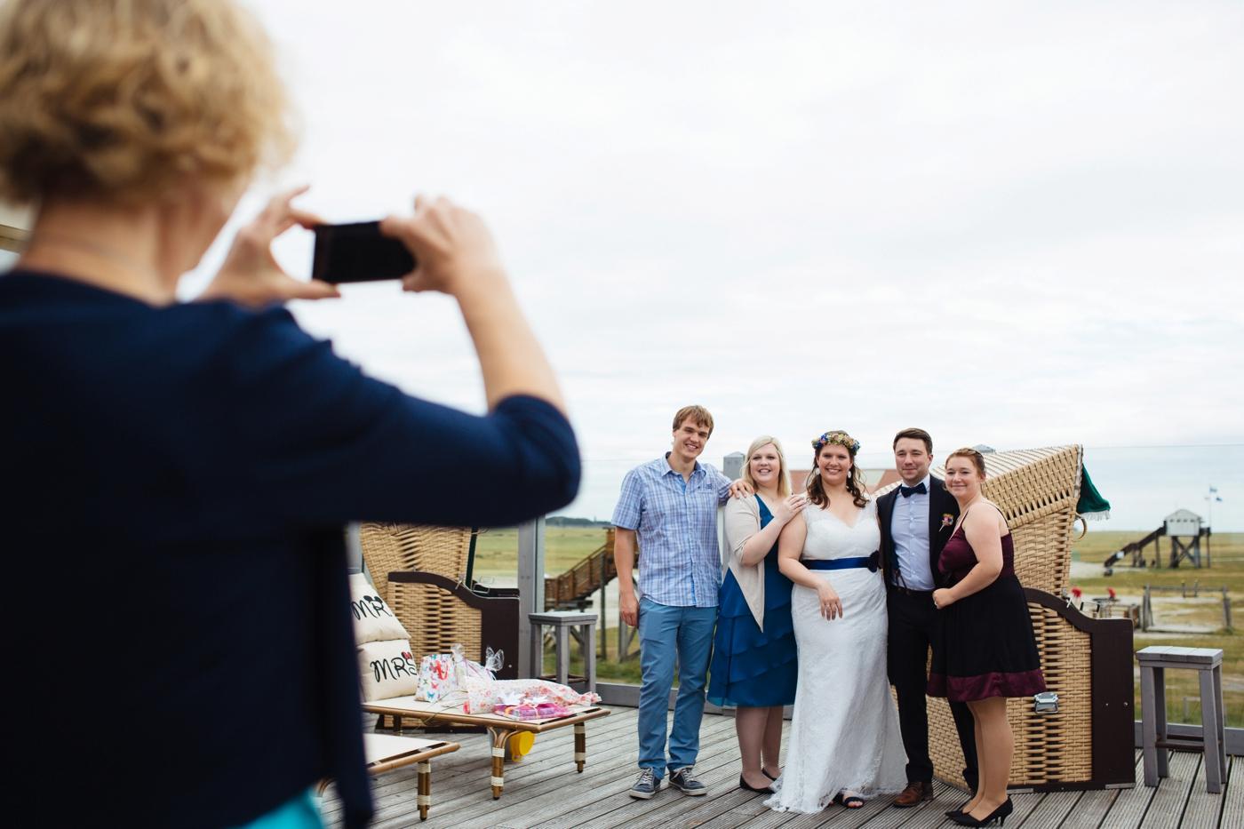 Hochzeit Sankt Peter Ording Strandhuette 27