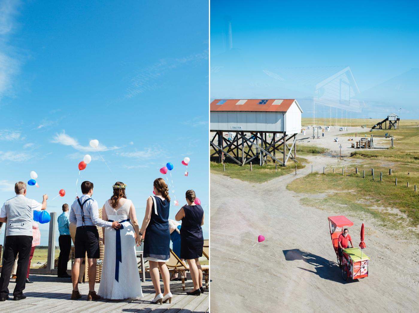 Hochzeit Sankt Peter Ording Strandhuette 46
