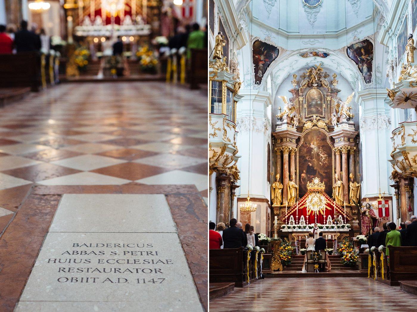 Hochzeit Stiftskirche Sankt Peter Salzburg 32