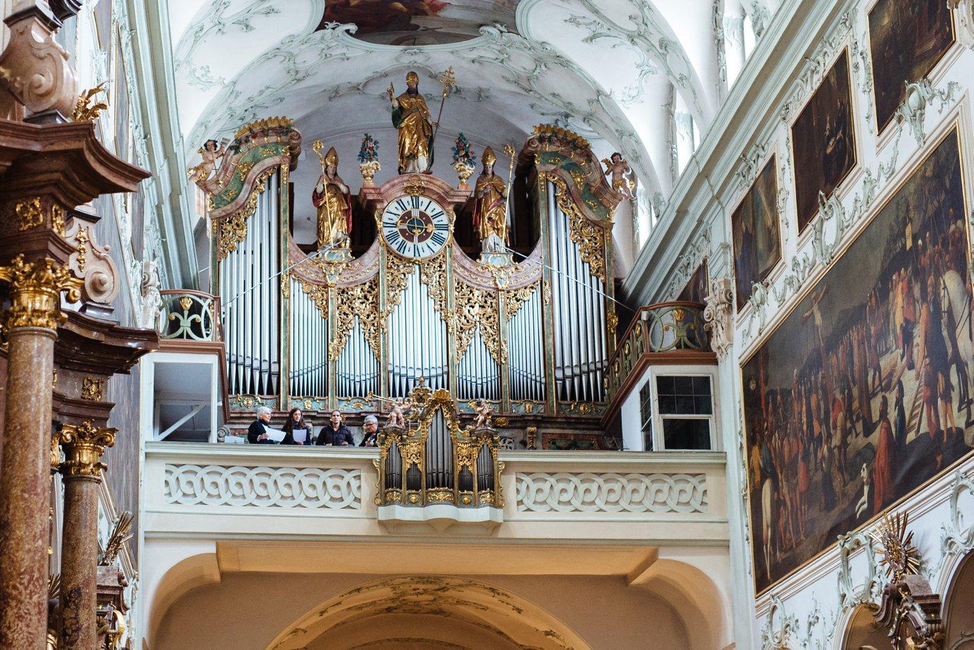 Hochzeit Stiftskirche Sankt Peter Salzburg 36