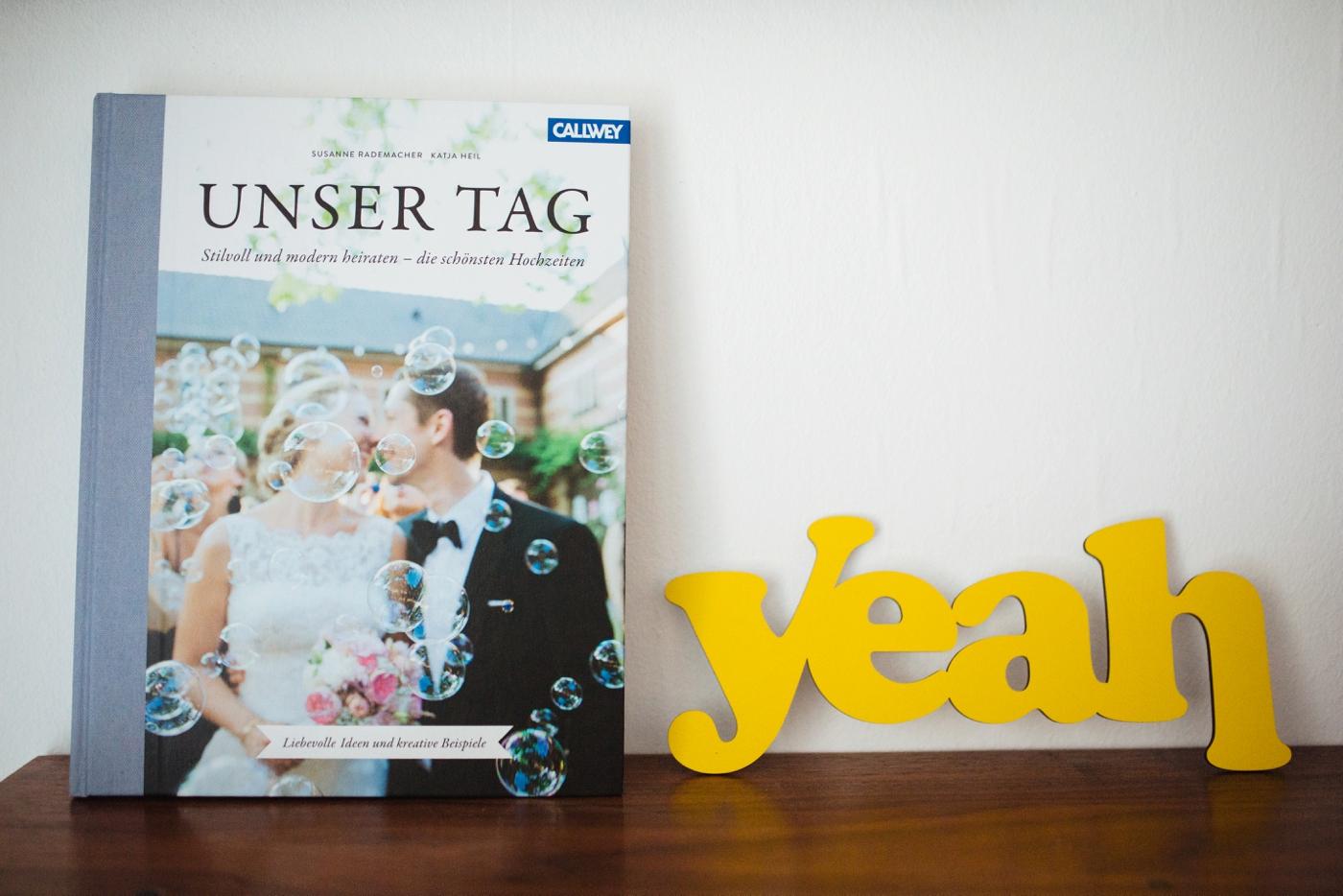 Hochzeitsbuch Unser Tag 1